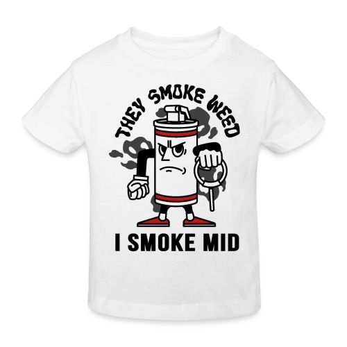 THEY SMOKE WEED I SMOKE MID CS:GO - Kids' Organic T-Shirt