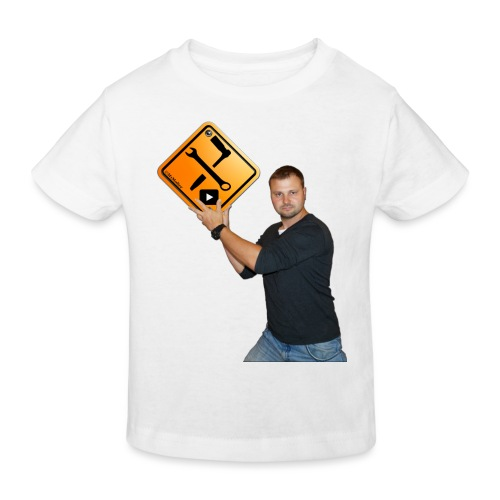 M1Molter + Logo - Kinder Bio-T-Shirt