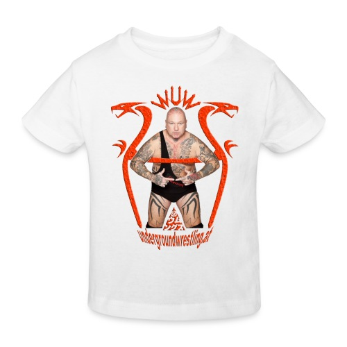 humungus wuw rot - Kinder Bio-T-Shirt