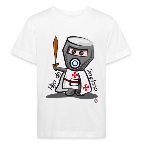 Hijo de templario (Casco) - Camiseta ecológica niño
