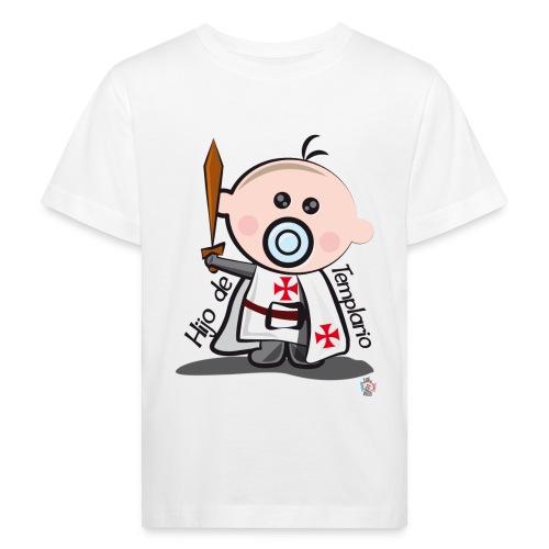 Hijo de templario - Camiseta ecológica niño