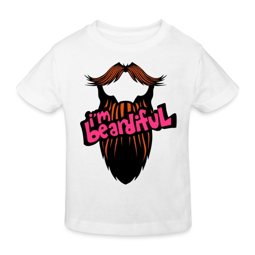 citation barbe i m beardiful barbu humou - T-shirt bio Enfant