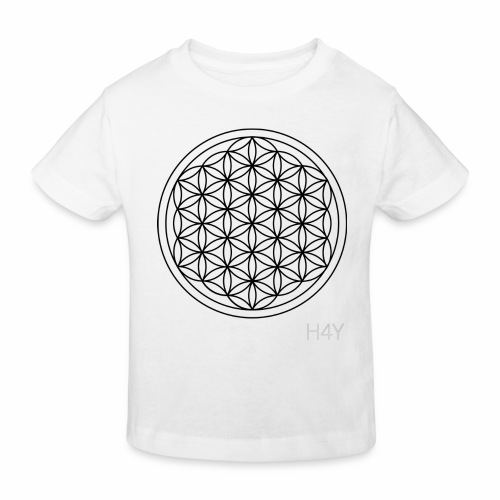 Flower Of Life - This Design Will Heal You - Organic børne shirt