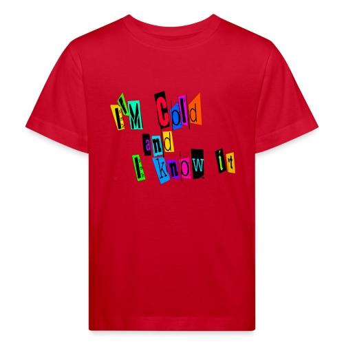 Am Cold - Lasten luonnonmukainen t-paita