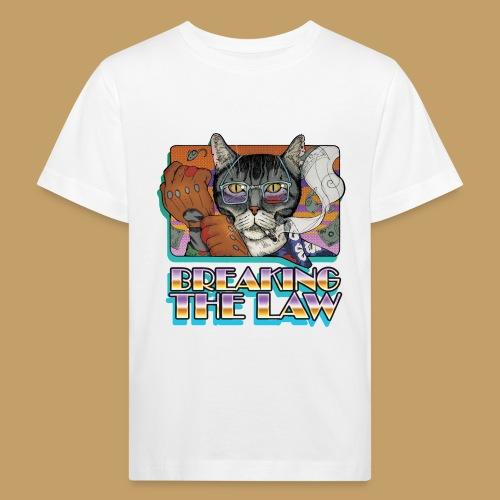Crime Cat- Breaking the Law - Ekologiczna koszulka dziecięca