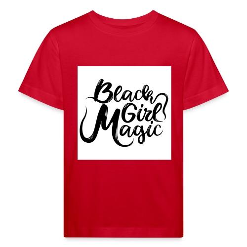 Black Girl Magic 1 Black Text - Kids' Organic T-Shirt