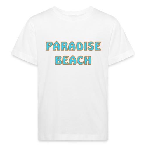 Paradise Beach - Kinder Bio-T-Shirt
