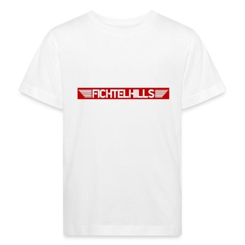 Fichtelhills Wings red - Kinder Bio-T-Shirt