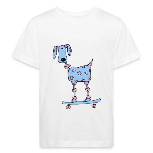 afbeelding skatehondokok - Kinderen Bio-T-shirt