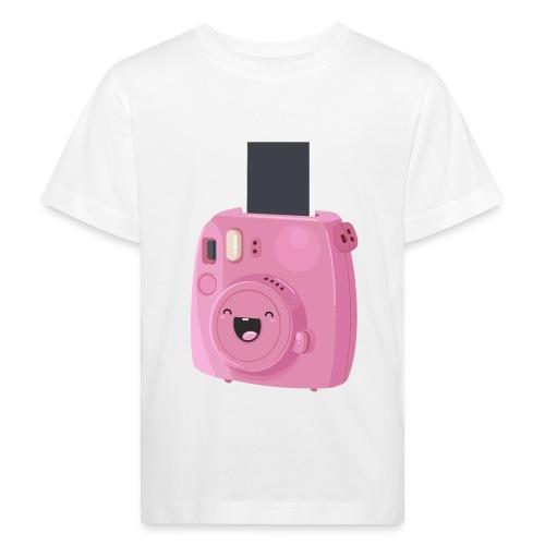 Appareil photo instantané rose - T-shirt bio Enfant