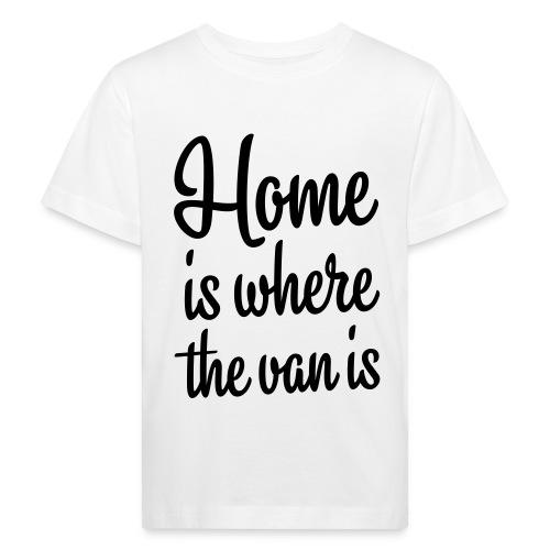 camperhome01b - Økologisk T-skjorte for barn
