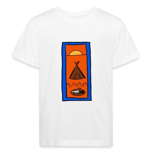 Samisk motiv - Økologisk T-skjorte for barn