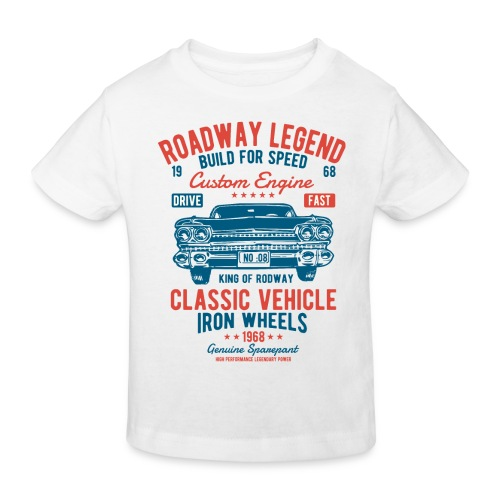 Roadway Legend - Kinderen Bio-T-shirt