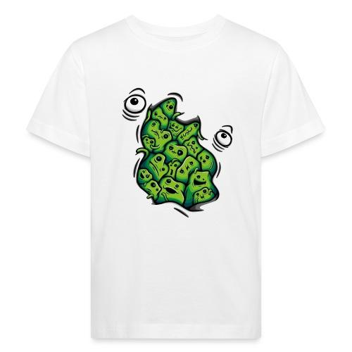 Getting Outside (green version) - Kids' Organic T-Shirt