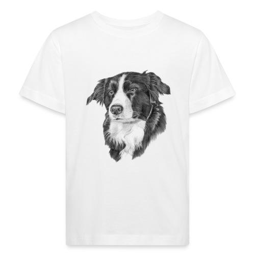 border collie S - Organic børne shirt