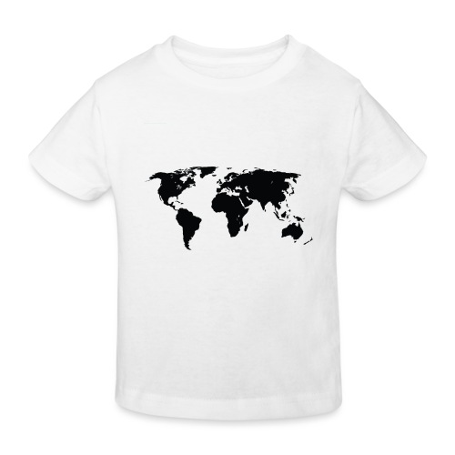 World - Organic børne shirt