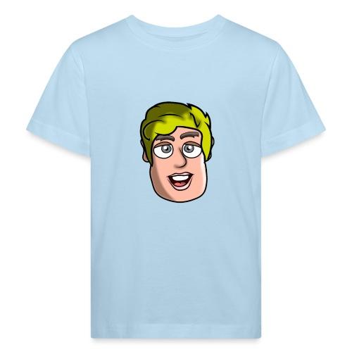 Face Logo Teenage T-shirt - Kids' Organic T-Shirt