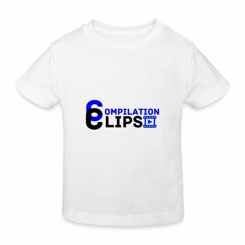 Official CompilationClips - Kids' Organic T-Shirt