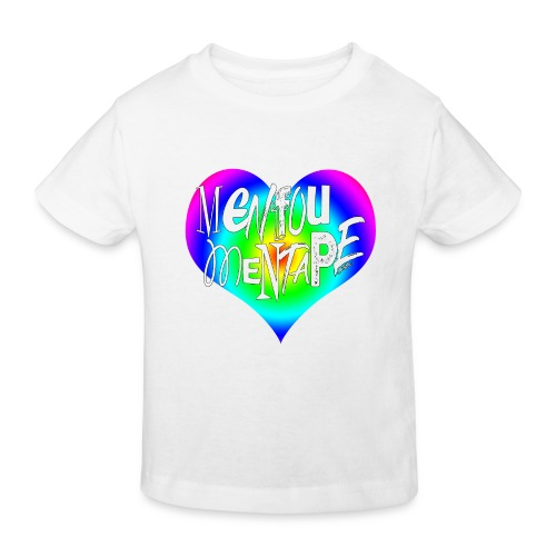 MENFOUMENTAPE Arc en ciel by Alice Kara - T-shirt bio Enfant