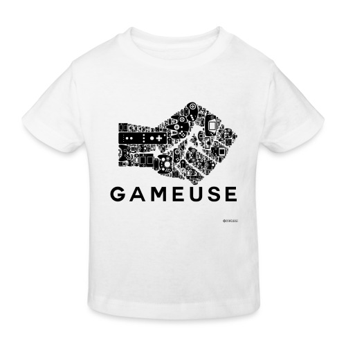 POING GAMEUSE - T-shirt bio Enfant