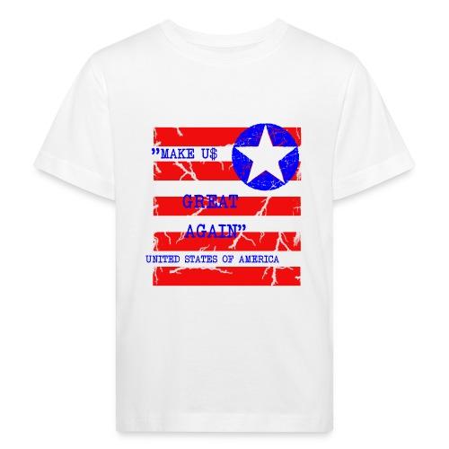 MAKE USG REAT AGAIN - Ekologisk T-shirt barn