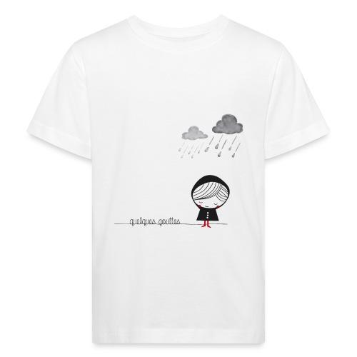 quelques gouttes encore - T-shirt bio Enfant