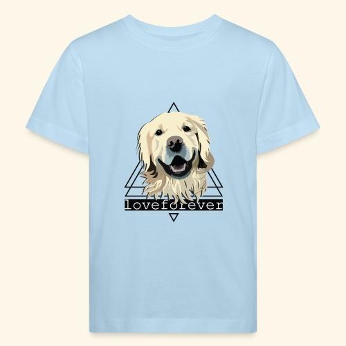 RETRIEVER LOVE FOREVER - Camiseta ecológica niño