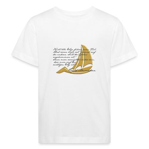 weltumsegeln - Kinder Bio-T-Shirt