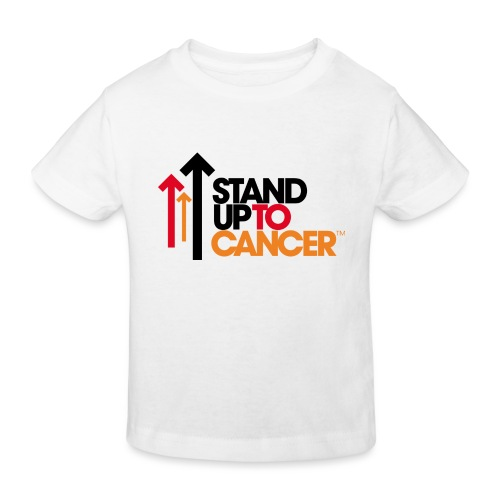 stand up to cancer logo - Kids' Organic T-Shirt