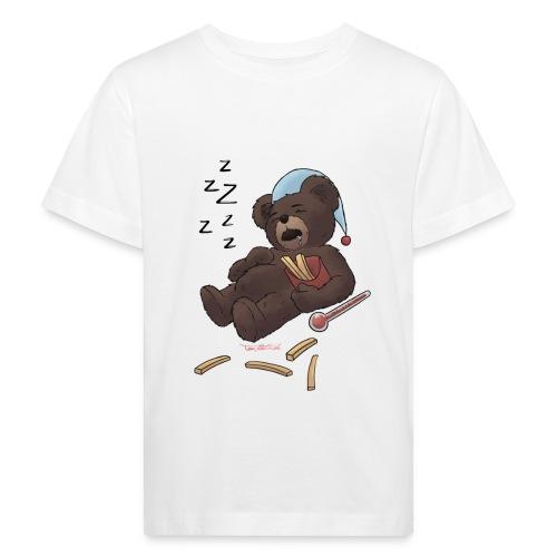 Fieber-Bär ZzZzZZZz - Kinder Bio-T-Shirt