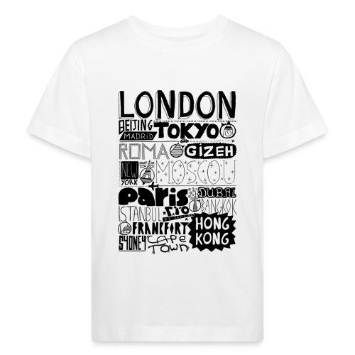 Villes du monde - T-shirt bio Enfant