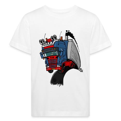 The flying skane man notext - Kinderen Bio-T-shirt