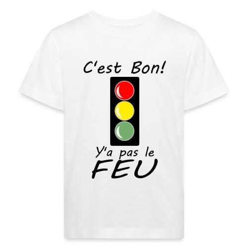 pas le feu tricolore - T-shirt bio Enfant