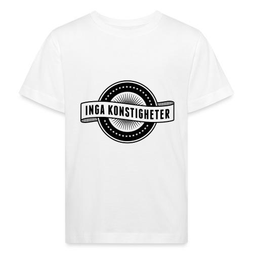 Inga Konstigheters klassiska logga (ljus) - Ekologisk T-shirt barn