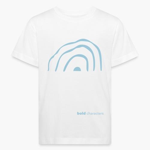 wickedrainbow uni - Kinderen Bio-T-shirt