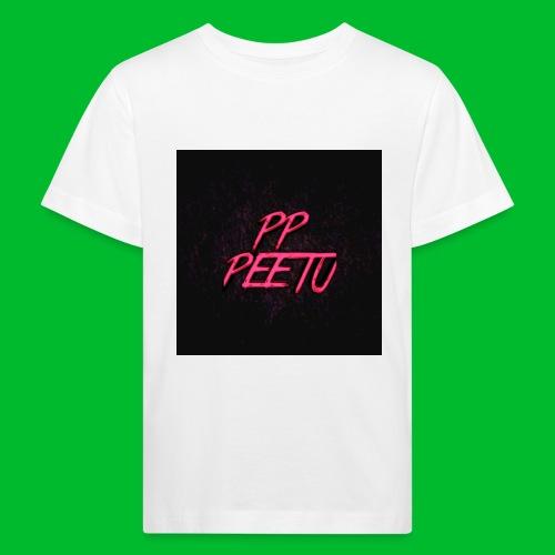 Ppppeetu logo - Lasten luonnonmukainen t-paita