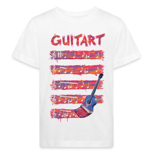GuitArt - Kids' Organic T-Shirt