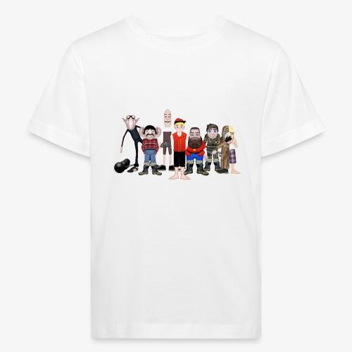 Askeladden og de gode hjelperne - Økologisk T-skjorte for barn
