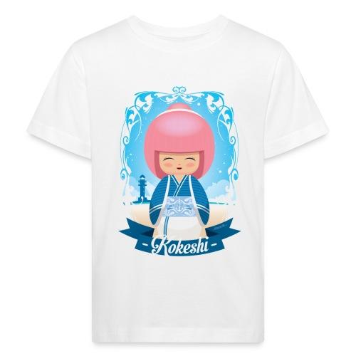 Kokeshi mod.4 - Maglietta ecologica per bambini