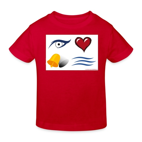 I Love Glockenbach - Kinder Bio-T-Shirt