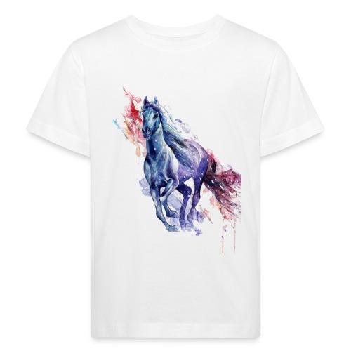 Cute horse shirt - Organic børne shirt