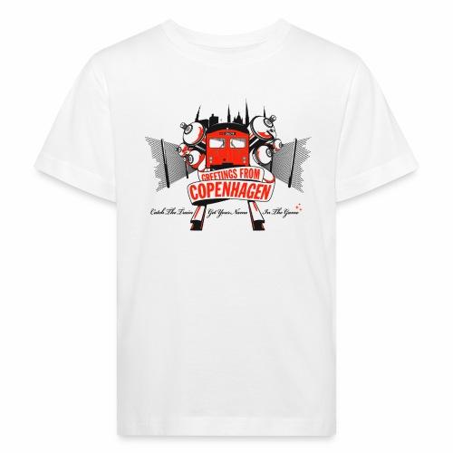 Greetings from CPH ver01 - Organic børne shirt
