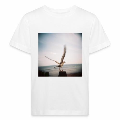 Original Artist design * Seagull - Kids' Organic T-Shirt