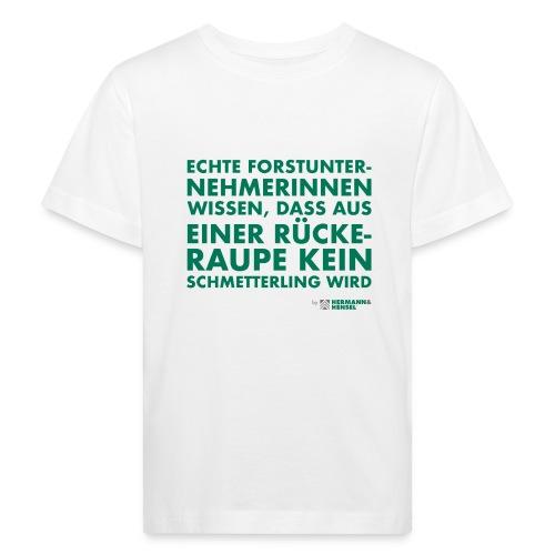 Forstunternehmerinnen | Schmetterling - Kinder Bio-T-Shirt