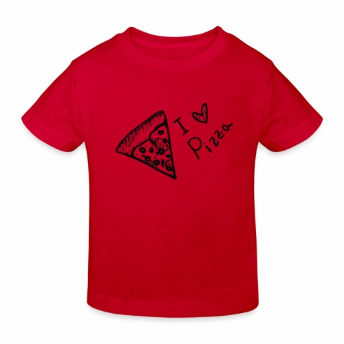 I LOVE PIZZA - Kinder Bio-T-Shirt