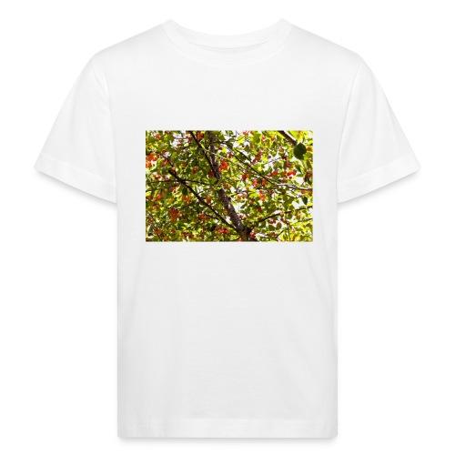kersenboom afdruk/print - Kinderen Bio-T-shirt