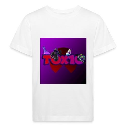 toxic paita - Lasten luonnonmukainen t-paita
