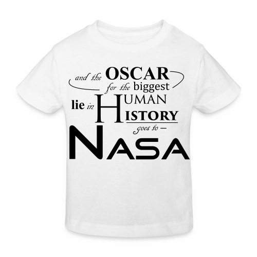 Flat Earth Nasa - Kinder Bio-T-Shirt