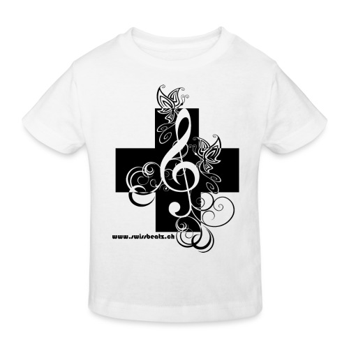 Swiss Beatz Logo non L - Kinder Bio-T-Shirt