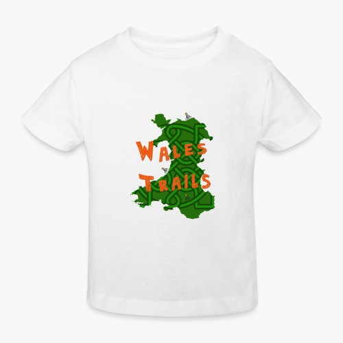 Wales Trails - Kids' Organic T-Shirt